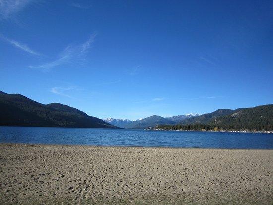 Christina Lake, Canada : Beach
