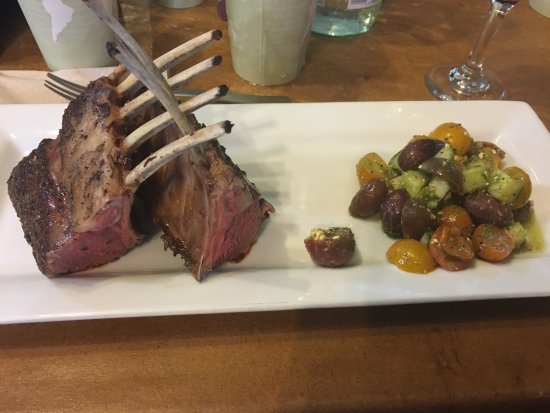Bluff Dale, TX: Rack of Lamb