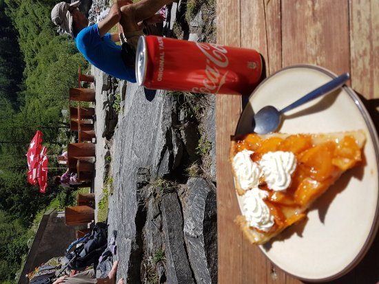 Trient, Schweiz: Torta de apricot.