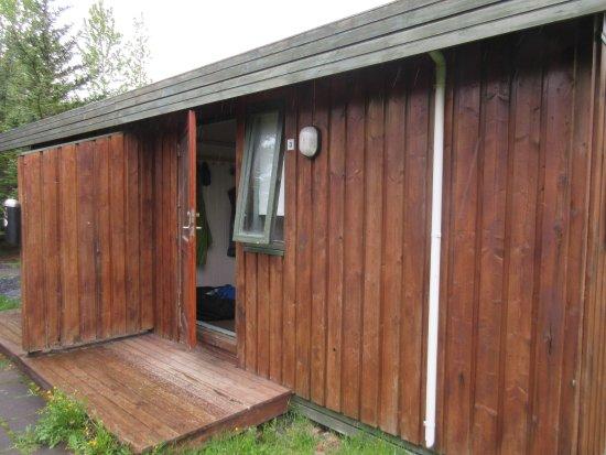 Gesthus Selfoss: Exterior of a cabin.