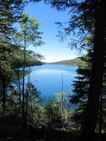 Greenwood, Canada: View from trail of Jewel Lake