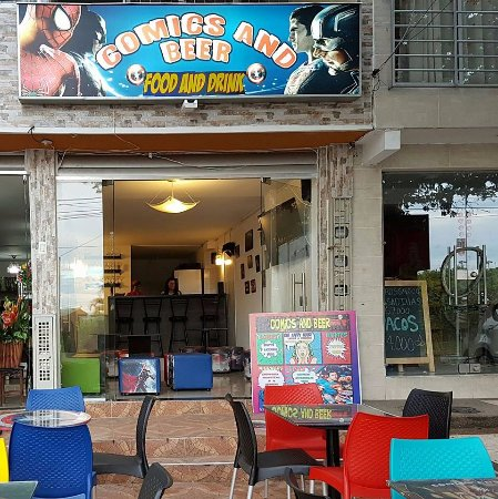 Comics And Beer Cafe Bar