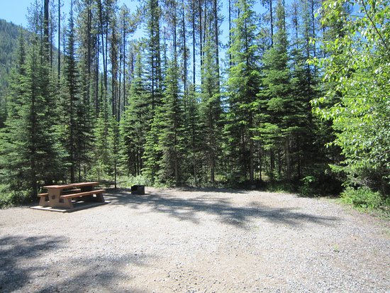 Greenwood, Canadá: campsite at Jewel Lake