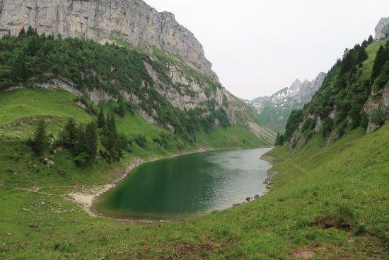 Berggasthaus Bollenwees: The lake