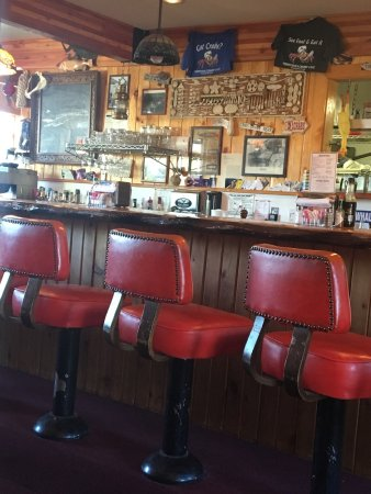 Winchester Bay, OR: vintage bar stools