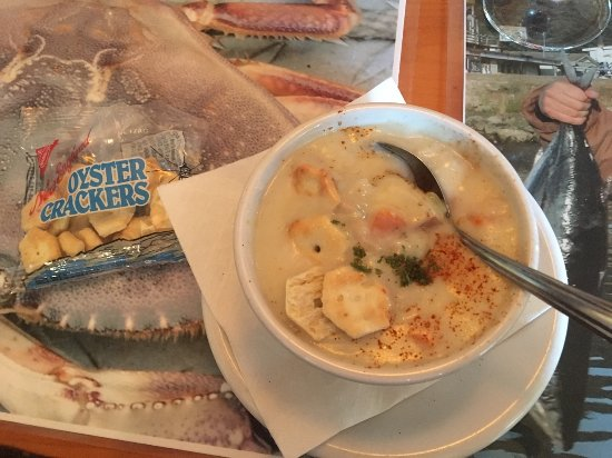 Winchester Bay, OR: clam chowder