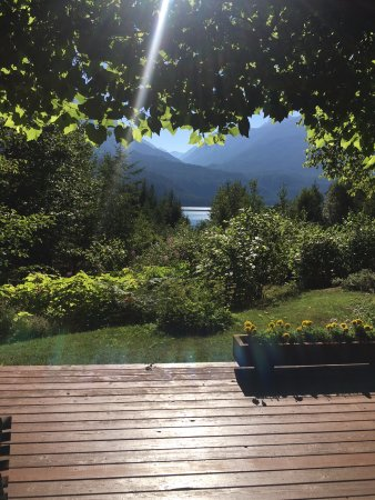Kaslo, Canadá: View from our room