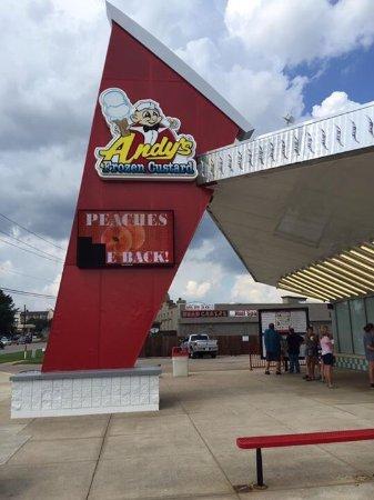 Andy 39 s frozen custard tyler menu prices restaurant for Restaurants in tyler tx