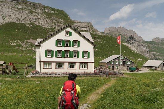 Weissbad, Schweiz: The building