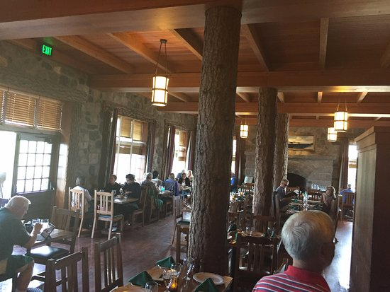 1a Crater Lake Lodge Dining Room Picture Of