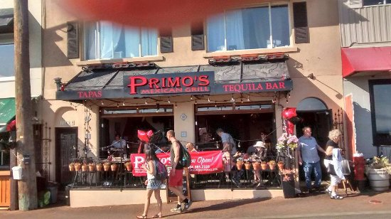 White Rock, Kanada: Primo's store front