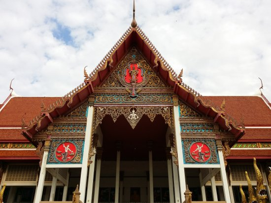 Krathum Baen, Tailândia: วัดนางสาว จ.สมุทรสาคร : 16.01.2016