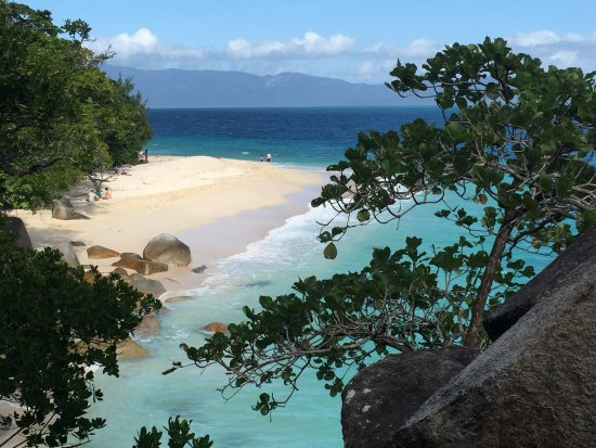 Fitzroy Island Resort: Nudey Beach