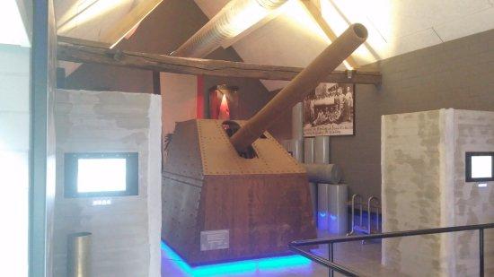 Lange Max Museum: Schaalmodel Lange Max