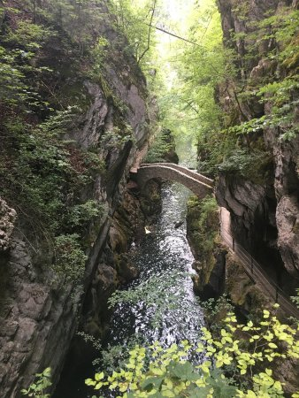 Bole, Suiza: Saut du brot bridge