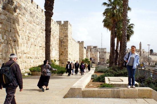 Porte de Jaffa (Bab al-Khalil) : Стена