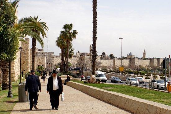 Porte de Jaffa (Bab al-Khalil) : К воротам