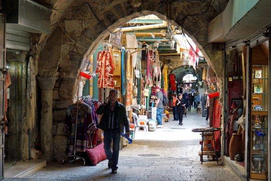 Porte de Jaffa (Bab al-Khalil) : За воротами