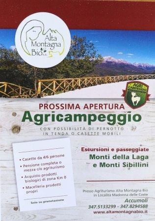 Accumoli, Włochy: Agricampeggio