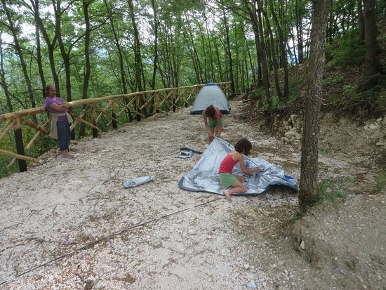 Accumoli, Włochy: Camping site