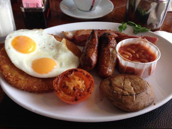Basildon, UK: Our breakfast