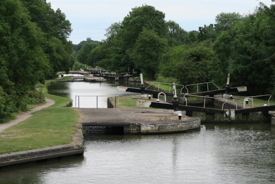 Hatton, UK: Part of the lock system - photo 5