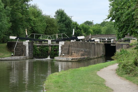 Hatton, UK: Part of the lock system - photo 6