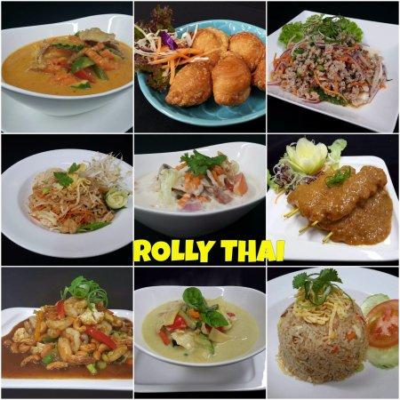 Rolleston, Nueva Zelanda: selection of dishes