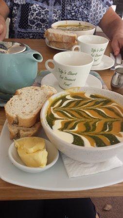 Berrima, Australia: Pumpkin and sweet potato soup