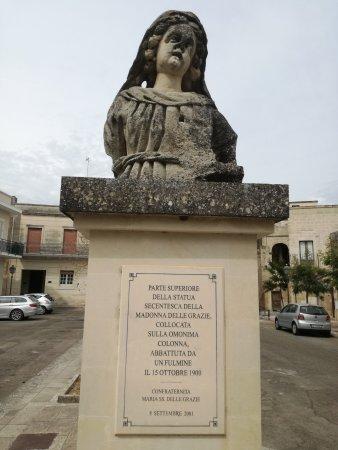 Maglie, Włochy: Colonna Madonna delle Grazie
