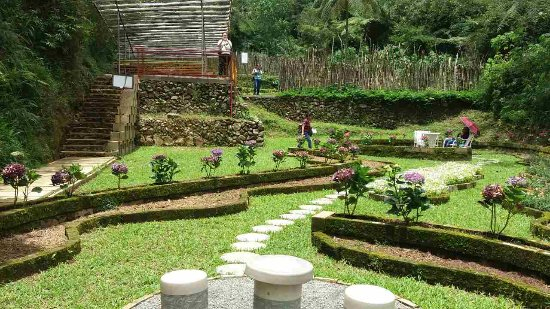 La Trinidad, Filipinas:  one of the Gardens