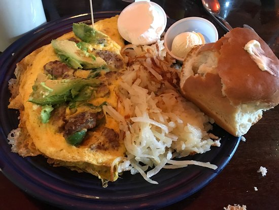 Jeremiah's Restaurant: Ghost-pepper omelette! Yum!