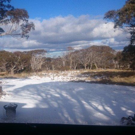 Dinner Plain, Australien: View from our room.