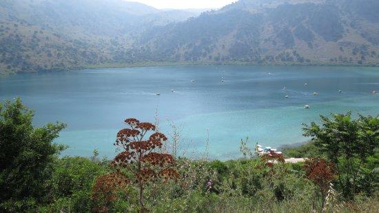 Курна, Греция: Jezioro.
