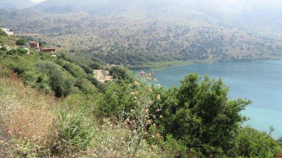 Kournas, Greece: Jezioro.