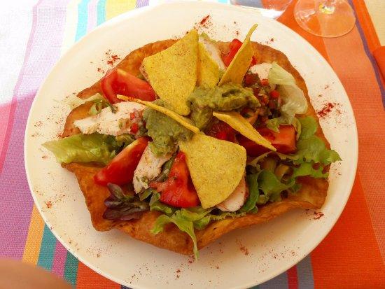 Vaux-sur-Mer, France: Salade Taco