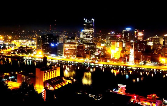 Mount Washington: Pittsburgh by night