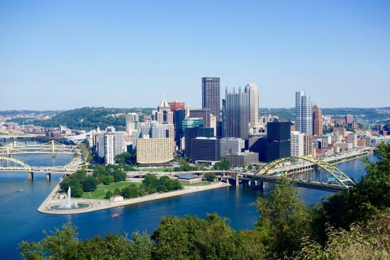 Mount Washington: the view of the city