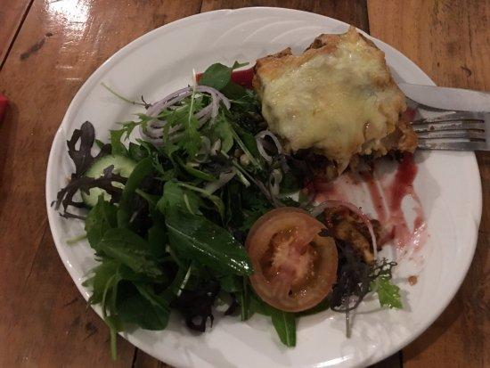 Opotiki, Neuseeland: Lasagna