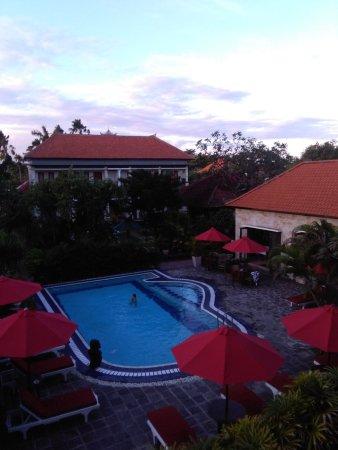 Segara Agung Hotel: Veduta dalla camera