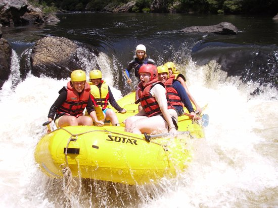 Grafton, Australia: Whitewater Rafting: Finx Drop will not disappoint!