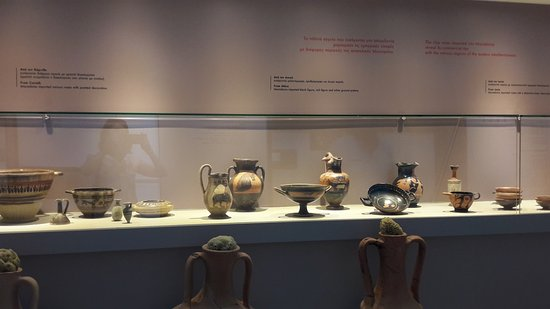 Archaeological Museum of Thessaloniki: Pottery