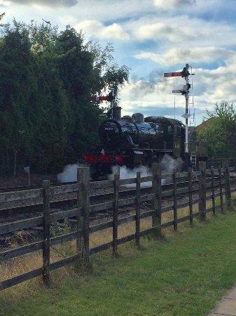 Loughborough, UK: Steam train
