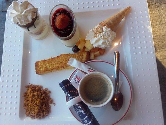 Seclin, Francia: Le café gourmand