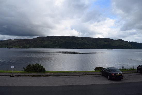 Lochcarron, UK: View from the B&B (Loch Carron)
