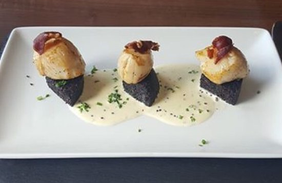 Coylton, UK: Scallops
