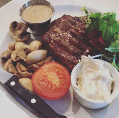 Coylton, UK: Fillet steak