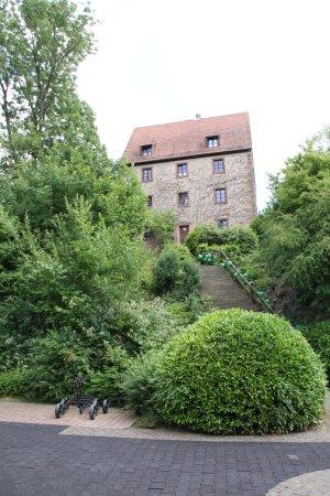 Wiesloch, Alemania: Burg Hohenhardt - Übernachtungen können über Air BnB gebucht werden