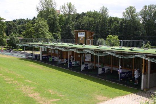 Wiesloch, Alemania: Driving Range der Golfanlagen Hohenhardter Hof