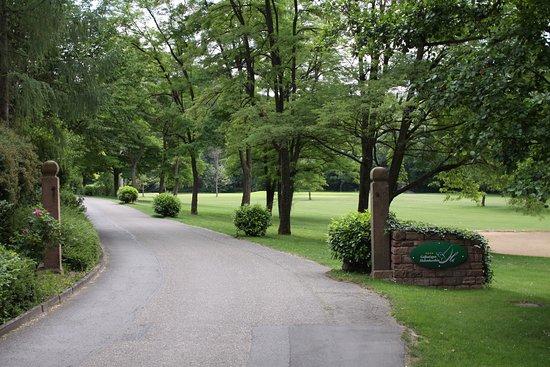 Wiesloch, Alemania: Einfahrt Golfanlagen Hohenhardter Hof